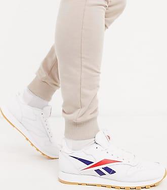 Reebok Reebok Classic - Sneakers bianche in pelle con logo Vector-Bianco