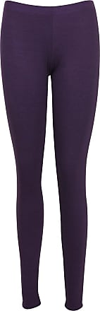 Black Legging Plain Elasticated Stretchy Soft Summer 8-20 Ladies Trouser Viscose