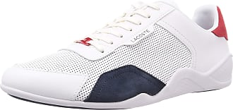 Lacoste Mens 739cma0066407_43 Sneaker, White, 10 UK