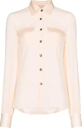 USISI SISTER Camisa Jacquetta com botões - Branco