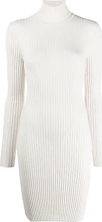 Wolford Vestido de tricô canelado - Branco