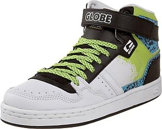 Globe Mens Pulse Skate Shoe,White//Green//Black,8 M US