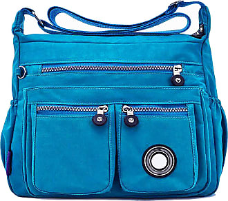 GFM Womens Nylon Waterproof Cross Body Shoulder Bag (S1-171-TXNL)