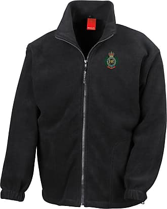 Military Online Royal Engineers RE Sappers Embroidered Logo - Official British Army Full Zip Heavyweight Fleece Jacket