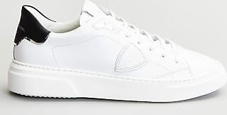 Reposi Calzature Philippe Model - Sneakers Temple S Homme in pelle bianca e dettaglio nero