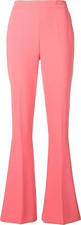 Elisabetta Franchi plain flared trousers - Rosa