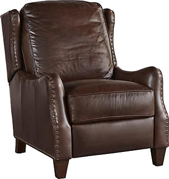 Universal Furniture Manning Leather Recliner with Nailhead Trim Driftwood - 790551P-793