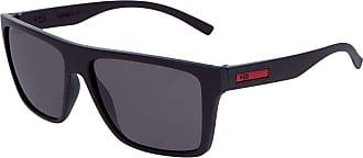 HB Óculos de Sol Hb Floyd 9011770200/60 Preto Fosco com Vermelho