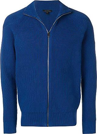 Belstaff Cardigan com zíper - Azul