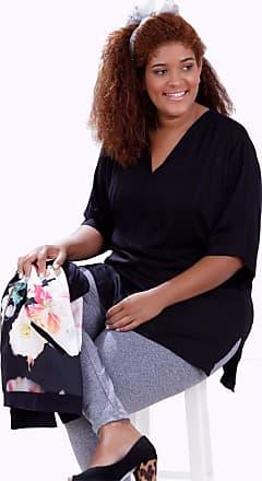 Vickttoria Vick Blusa Jaqueline Preto Plus Size (44)