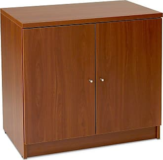 Unique Furniture 100 Collection 2 Door Cabinet Espresso - 132200-ESP