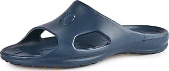 Ladeheid Womens EVA Slippers House Shoes KL039D (Darkblue, 7.5 UK)