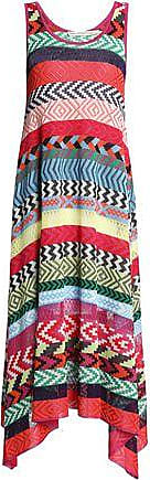 Mary Katrantzou Mary Katrantzou Woman Leandra Striped Jacquard-knit Midi  Dress Multicolor Size XS 849b54c09
