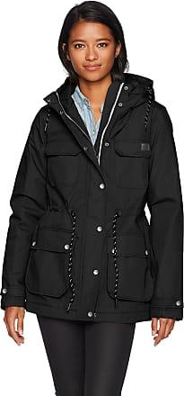Volcom Womens Venson Parka Jacket, Black, XS