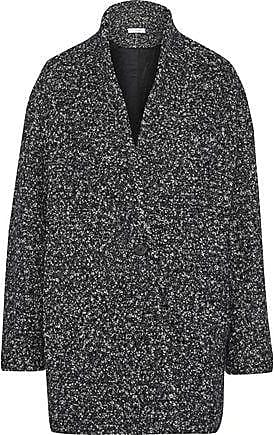 Iro Iro Woman Bouclé-tweed Coat Charcoal Size 40