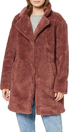 Urban Classics Womens Ladies Oversized Sherpa Coat, Pink (Dark Rose 01472), 4X-Large