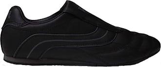 Lonsdale Mens Slip On Padded Ankle Trainers Footwear (10 UK, Black/Black)