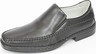 Generico sapato social, no stress, mascuino em legitimo couro mestiço, solado de borracha (pu), forrado em napa de couro bovino, clacle modelo C-007 (42, mesti