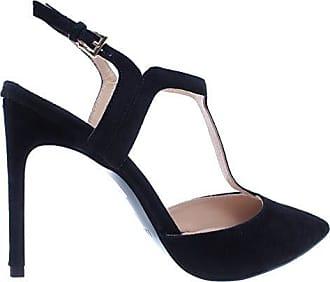 LIU JO Damen Pumps Schuhe Marilyn Decollete 100 Schwarz Leder Neu