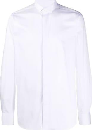 Xacus long sleeve tailored shirt - White