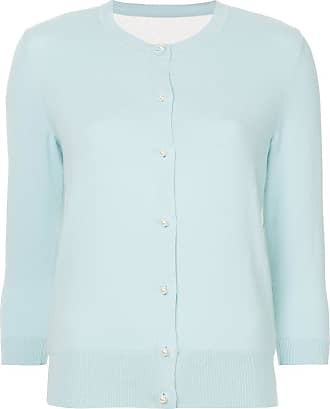 Onefifteen broderie anglaise panel cardigan - Blue