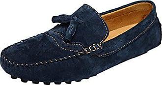 ICEGREY Herren Mokassin Mit Quaste Casual Brogue Stil Fahren Schuhe  Halbschuhe Blau 43 956f7c7d97