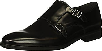Kenneth Cole Reaction Mens Joshua Monk-Strap Loafer, Black, 10.5 M US