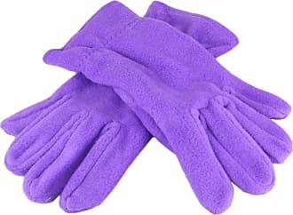 2Store24 Gloves Promo in Fleece in Purple Size: M/L