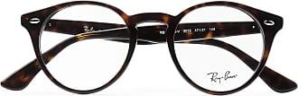 Ray-Ban Round-frame Tortoiseshell Acetate Optical Glasses - Tortoiseshell