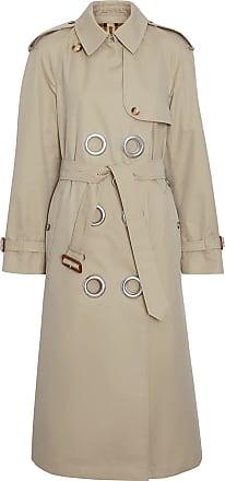 Burberry Trench coat com ilhoses - Stone