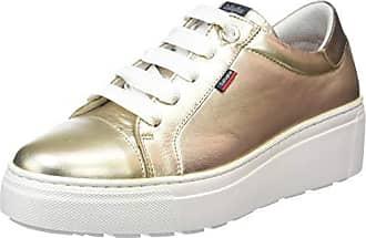 7161c2e1 Callaghan Moon Line, Zapatos de Cordones Derby para Mujer, Dorado (Betan 2)