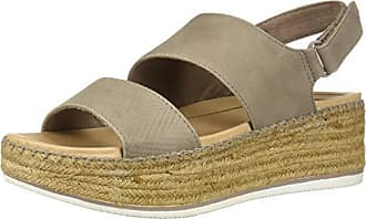 Dr. Scholls Womens Cool Vibes Sandal, Taupe Grey Altitude Print, 8.5 M US