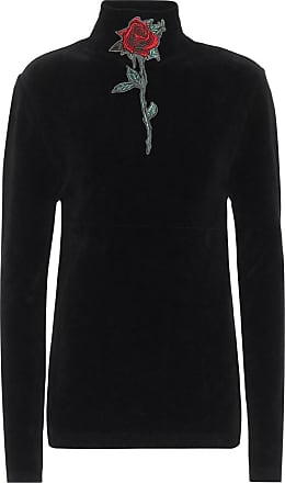 Y / Project Stretch-cotton velvet sweater