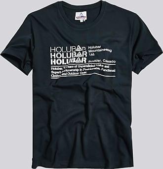 HOLUBAR t-shirt triple logo jj23 blu
