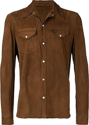 Salvatore Santoro fitted button down shirt - Marrom