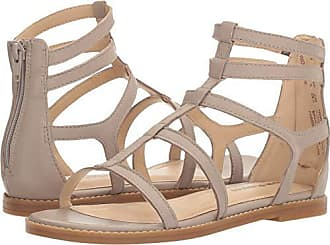 c04d0e48bc4b Hush Puppies Womens Abney Chrissie Lo Gladiator Sandal Light Taupe Leather  6 W US