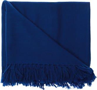 Isabel Marant Fringed Shawl Womens Navy Blue
