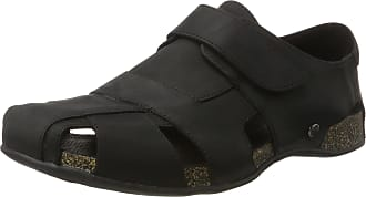 Panama Jack Fletcher Basics, Mens Closed Toe Sandals, Black, 8 UK (42 EU)