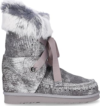 Mou Ankle Boots Grey LACE