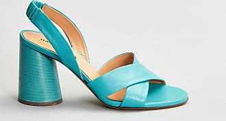 Reposi Calzature Halmanera Sandalo pelle azzurro