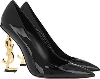Saint Laurent Pumps - Logo High Heel Pumps Leather Black - black - Pumps for ladies