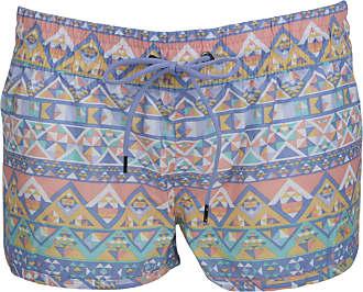 Tom Franks Ladies Aztec Print Beach Shorts