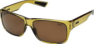 Zeal Optics Fowler (Amber/Polarized Copper Lens) Athletic Performance Sport Sunglasses