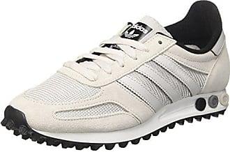 official photos 84115 b86b0 adidas La Trainer Og, Sneaker a Collo Basso Uomo, Bianco (Grey F17