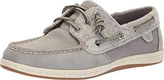 Sperry Top-Sider Sperry Womens Songfish Boat Shoe, Grey Wool, 8 M US