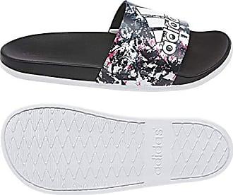 online retailer 17335 d7a17 adidas Damen Adilette Comfort Dusch-  Badeschuhe, Weiß  (FtwblaFtwblaNegbás