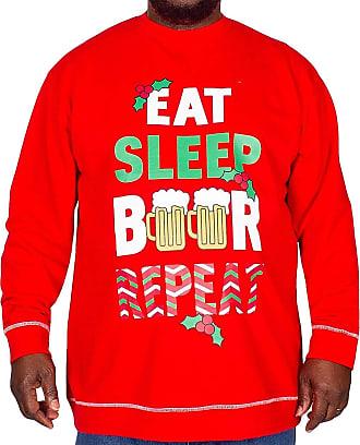 NEW MEN/'S BRANDED DUKE /'RUDY/' RED SIZES NOVELTY FESTIVE FUN CHRISTMAS T SHIRT