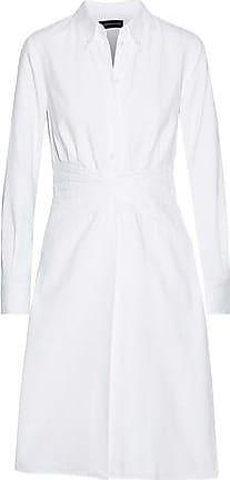 ec64d211ee41b Brandon Maxwell Brandon Maxwell Woman Layered Pintucked Cotton-piqué Shirt  Dress White Size 6