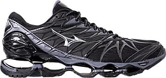 Mizuno Mens Wave Prophecy 7 Running Shoes, Black