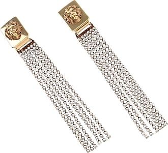 Versace Earrings for Women On Sale, Antique Gold, Brass, 2017, One Size